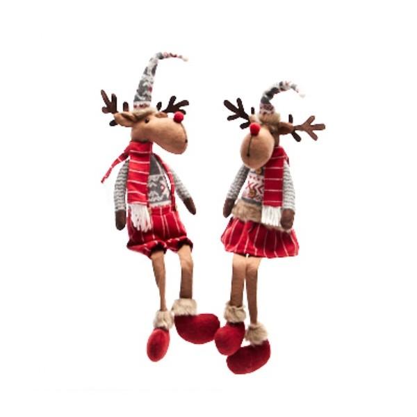 Текстилна играчка елен