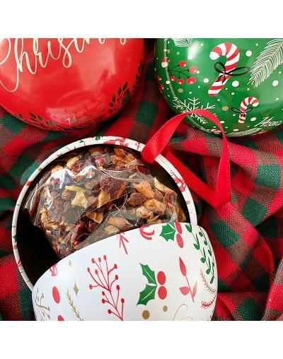 Коледен чай в метална топка - играчка