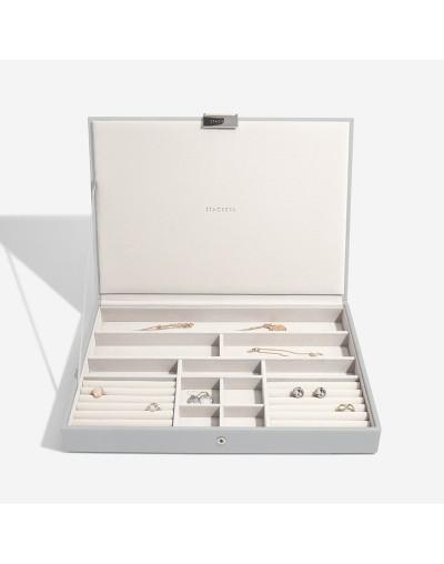 Кутия за бижута Пебълс Грей