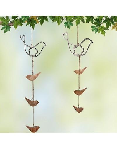 Гирлянд с птички за декорация