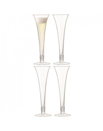 Комплект чаши за шампанизирано вино