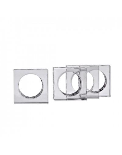 Комплект пръстени за салфетки Куадро