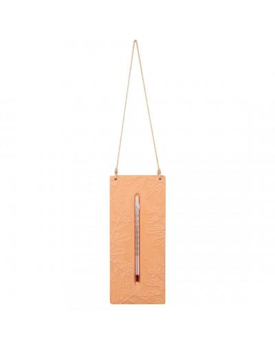 Външен термометър с теракотена плочка