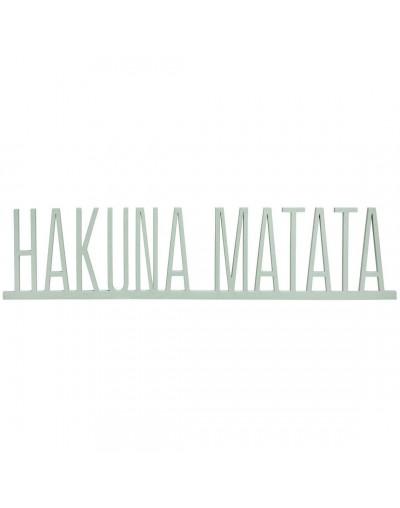 Надпис Хакуна Матата