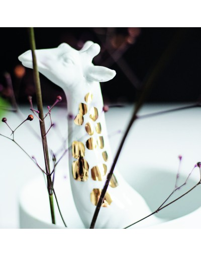 Порцеланова ваза с жираф