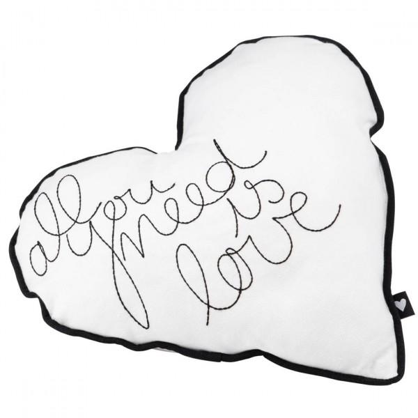Декоративна възглавница Сърце