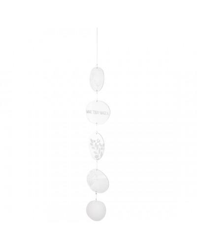 Висяща декорация от стъкло