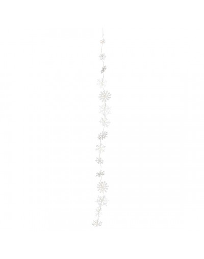 Светещ LED гирлянд Снежинки