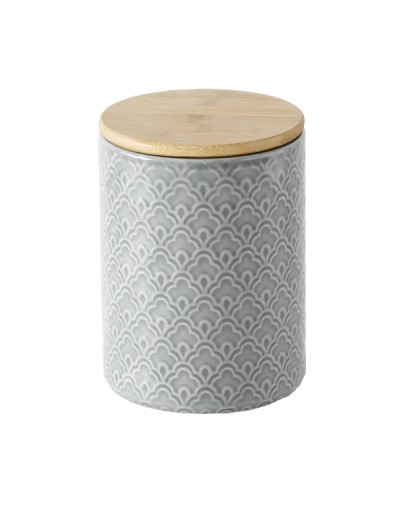 Буркан с капак от бамбук М