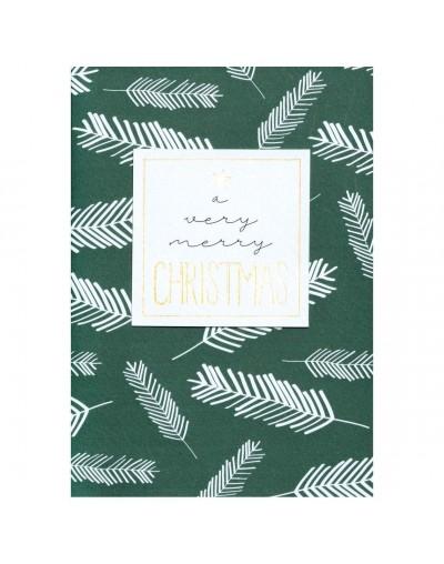 Коледна картичка A very Merry Christmas