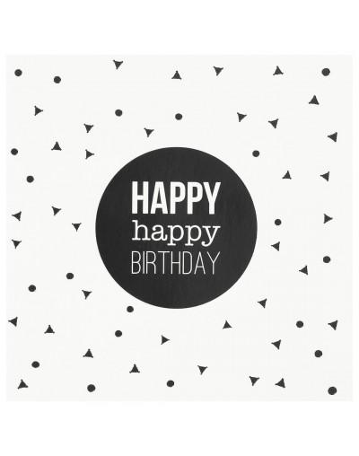 Картичка Happy Happy Birthday