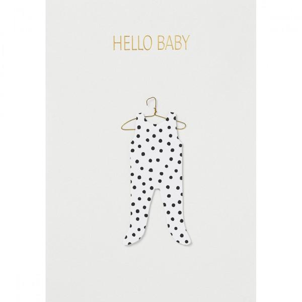 Картичка за бебе Hello Baby