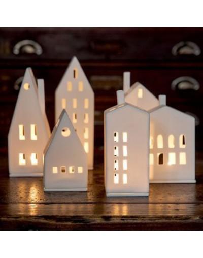 Порцеланов свещник Бяла къща