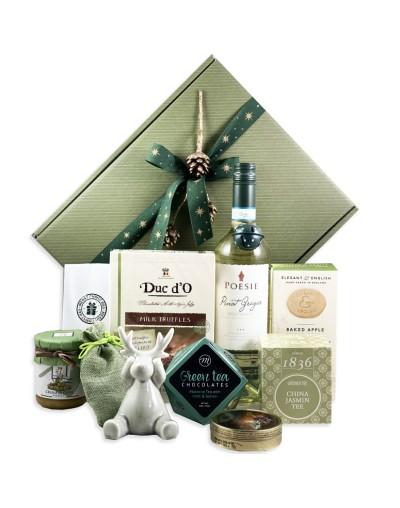 Подарък в кутия Зелена Коледа