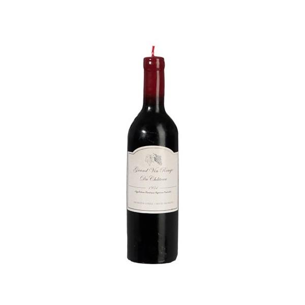 Бутилка вино - свещ