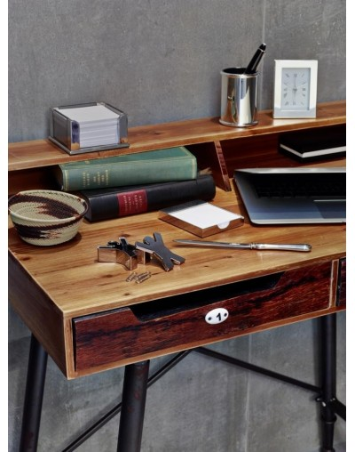 Посребрен комплект за бюро от 4 части