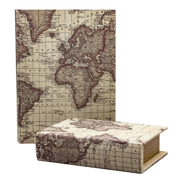 Кутия Географска Карта