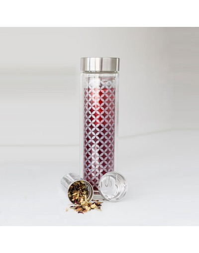 Стъклен термос / бутилка за чай