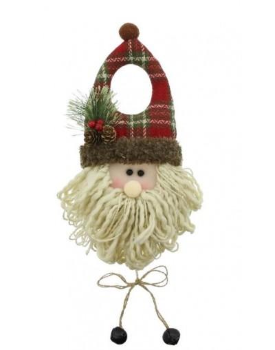 Декорация за врата Дядо Коледа