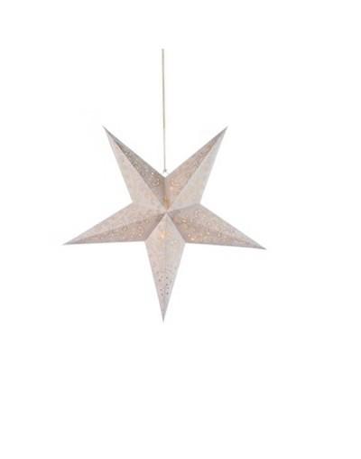 Светеща хартиена звезда за декорация