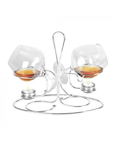 Бренди снифтър за две чаши