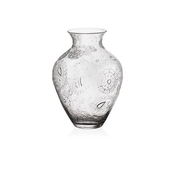 Ваза Пашмина от ръчно духано стъкло