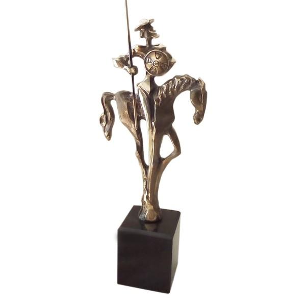 Авторска статуетка Дон Кихот на поход
