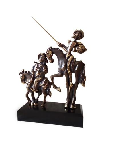 Авторска статуетка Дон Кихот и Санчо Панса
