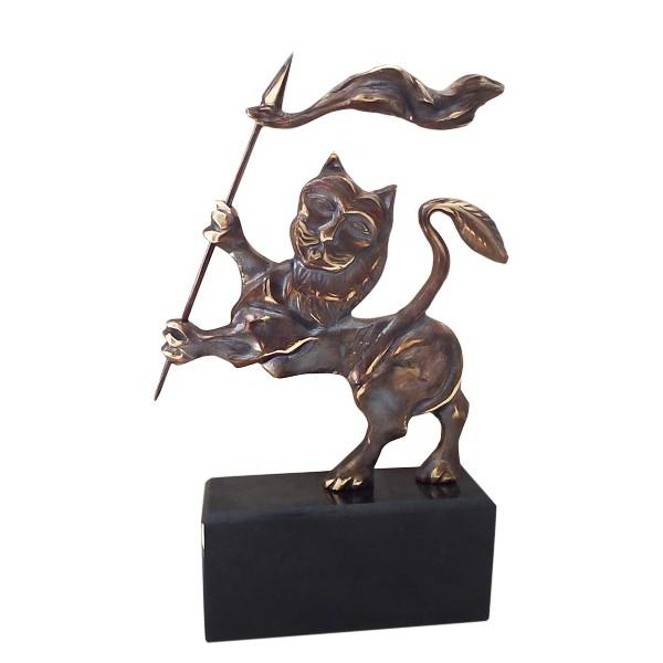 Авторска статуетка Български лъв