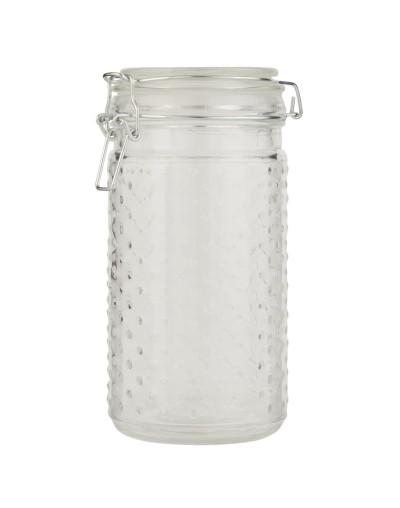 Стъклен буркан с херметическо затваряне