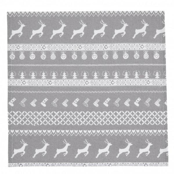 Текстилни салфетки с коледен мотив
