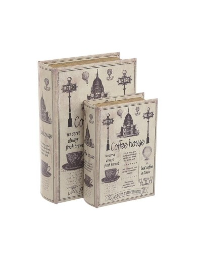 Кутия книга Винтидж