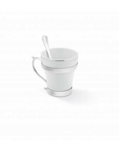 Посребрен сервиз за чай Елеганте