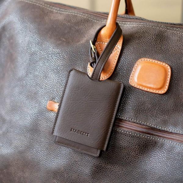 Таг етикет за багаж Браун