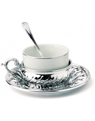 Посребрен сервиз за чай и кафе Луссо
