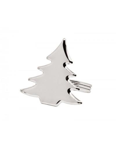 Комплект посребрени пръстени за салфетки Елха